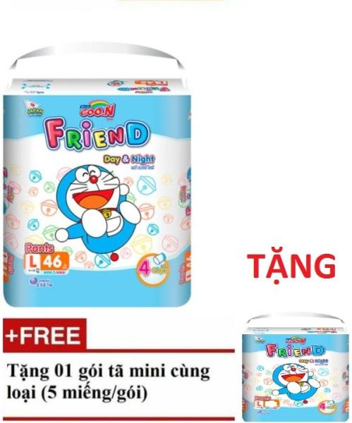 [Tặng 5-6 miếng] Tã quần Goon Friend M54/L46/XL40/XXL34/XXXL22