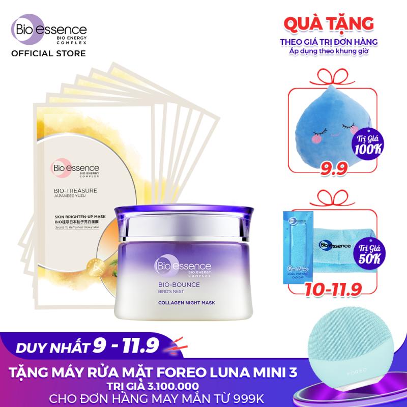 Mặt nạ ngủ dưỡng da Bio-Bounce Collagen Night Mask Bio-essence 50g giá rẻ