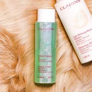 Nước hoa hồng cho da hỗn hợp và da dầu Clarins Toning Lotion With Iris Alcohol free 200ml thumbnail