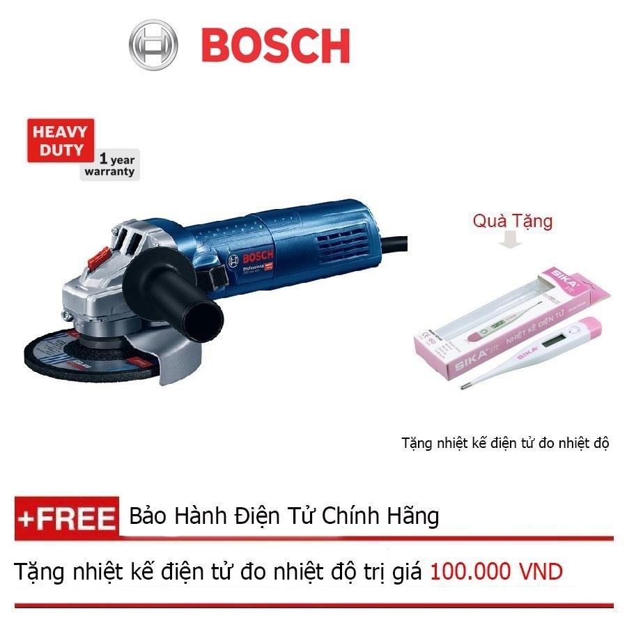 Máy mài góc Bosch GWS 900-125 + Quà tặng nhiệt kế điện tử