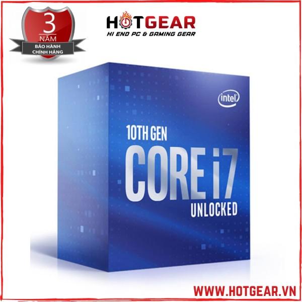 Bảng giá [Trả góp 0%]Bộ vi xử lý Intel Core i7 10700K (3.8GHz turbo up to 5.1GHz 8 core 16 Threads  16MB Cache) Box bảo hành 36T Phong Vũ