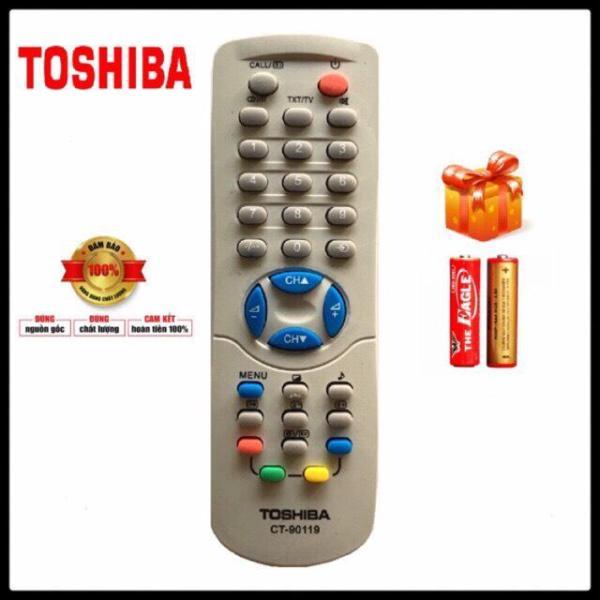 Bảng giá Điều khiển ti vi TOSHIBA CRT ( CT-90119 )