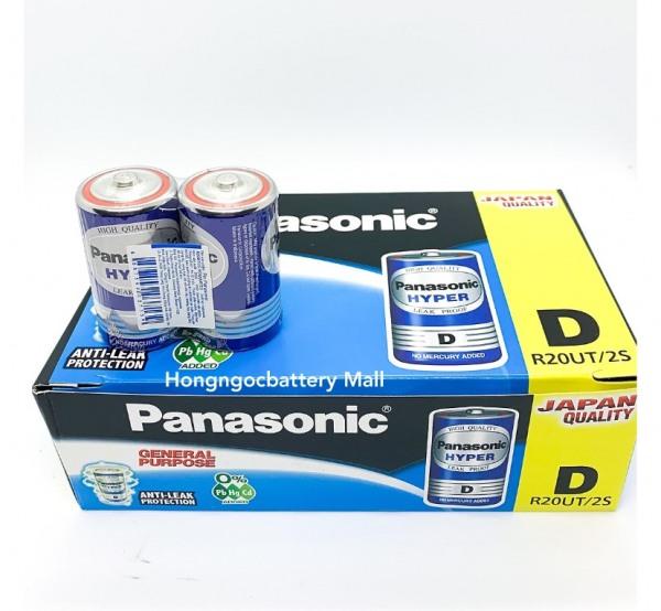 Hộp Pin Đại Panasonic 24 viên R20UT/2S