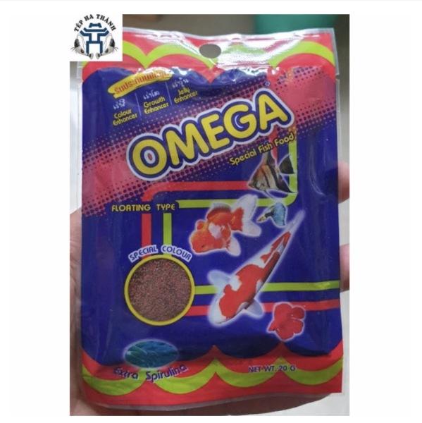 Thức Ăn Omega 20Gr Cho Cá Cảnh Loại Hạt Mịn