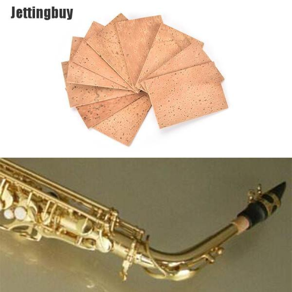 Phân phối Nút Chai Saxophone Jettingbuy, 10 Cái, Phụ Kiện Kèn Xắcxô Cổ/Tenor/Alto