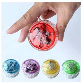 ĐỒ CHƠI YOYO CÓ ĐÈN LED PHÁT SÁNG NHIỀU MÀU, Yo-Yos trò chơi rèn luyện khéo léo, giải trí lành mạnh cho trẻ, nhiều màu, 5.5cm, bằng nhựa thumbnail