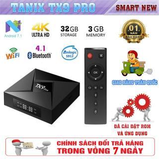 Android Tivibox TX9 Pro - Chip lõi 8 S912 - RAM 3GB, ROM 32GB Tích hợp app và truyền hình số miễn phí thumbnail