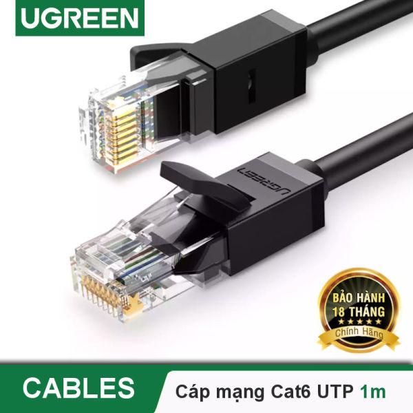 Giá Cáp mạng Cat6 UTP 26AWG CCA UGREEN NW102 sử dụng trên các mạng Ethernet / RJ45 - Hãng phân phối chính thức