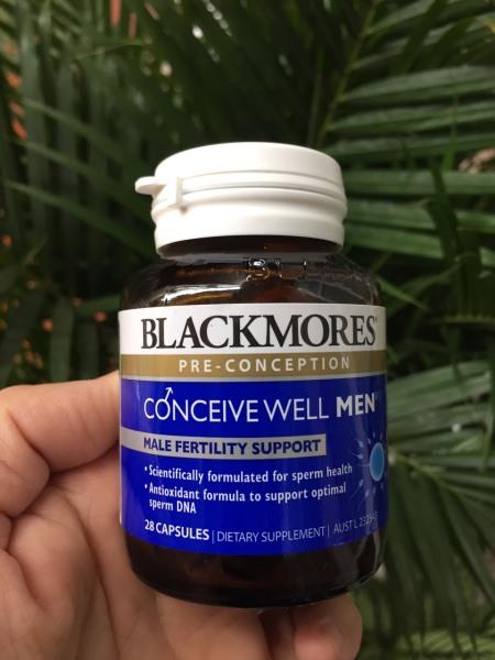 Tăng khả năng thụ thai Blackmores Conceive Well Men 28 Capsules nhập khẩu