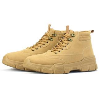 Giày Bốt Cổ Cao Thời Trang Da Lộn BCC001 Màu Nâu thumbnail