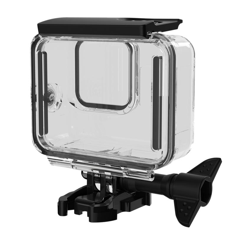 Giá Waterproof Case for GoPro Hero 8 Accessories Housing Case Diving Protective Housing Shell 60 Meter for Go Pro 8 Action Camera with Bracket Accessories