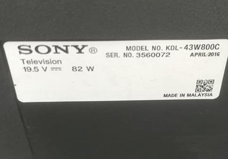 Bảng giá Bo mạch cao áp Sony 43W800C, 50W800C và 55W800C