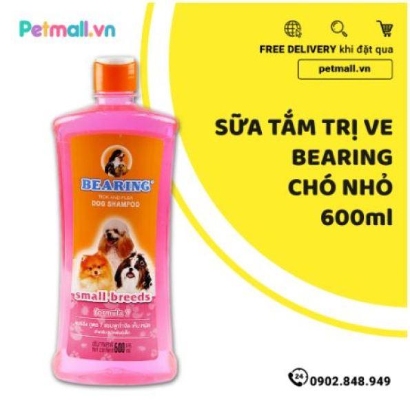 Sữa tắm trị ve BEARING Chó giống nhỏ 600ml - nhập Thái