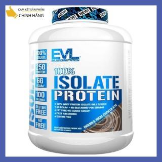 Thực Phẩm Bổ Sung EVL 100% Whey Isolate 5Lbs - Tăng Cơ , Giảm Mỡ ( 57 lần dùng ) thumbnail