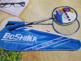 Bộ 2 vợt cầu lông thi đấu,tập luyện tặng kèm bao đụng vợt thumbnail