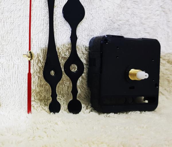 Máy đồng hồ treo tường kim trôi trục dài 10mm
