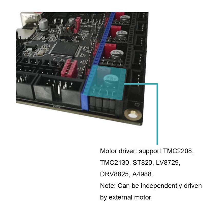 Bảng giá SKR V1.3 32 Bit Control Board 3D Printer Part Support TMC2130 SPI TMC2208 UART Drive Working Mode Phong Vũ