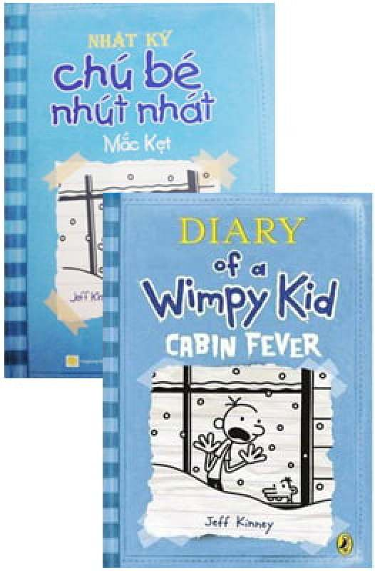 Fahasa - Combo Sách Hay Song Ngữ Diary Of A Wimpy Kid 6 - Mắc Kẹt