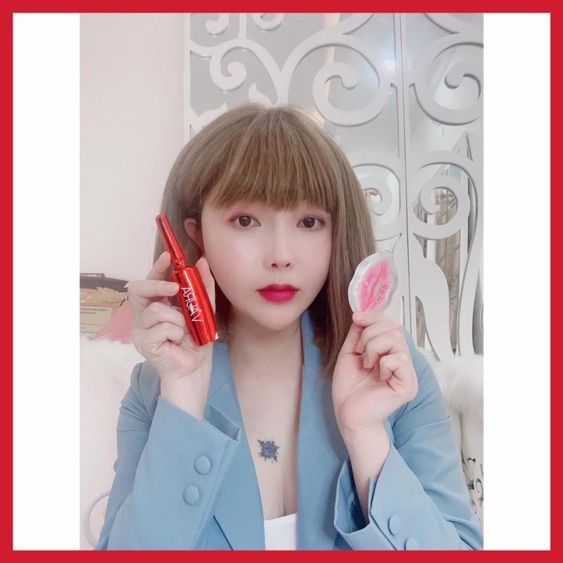 [TẶNG MASK MÔI+DÂY CỘT] Serum cấy màu môi Hàn Quốc - Ngăn thâm môi - Giúp môi hồng tự nhiên