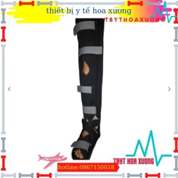 nẹp cẳng chân dài Cố định chấn thương gãy xương, bong gân cẳng chân, cổ chân và bàn chân.