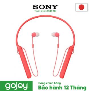 Tai nghe nhét tai không dây SONY WI-C400 Màu ĐỎ - Bảo hành chính hãng 12 tháng thumbnail