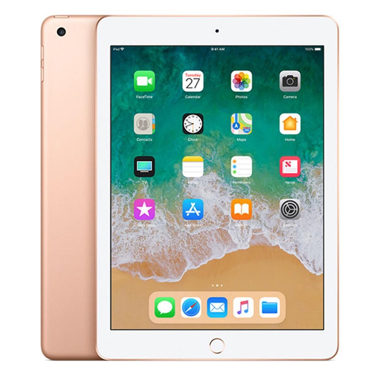Máy tính bảng Ipad Gen 6 WiFi/Cellular 128GB New 2018 (Màu rose gold)
