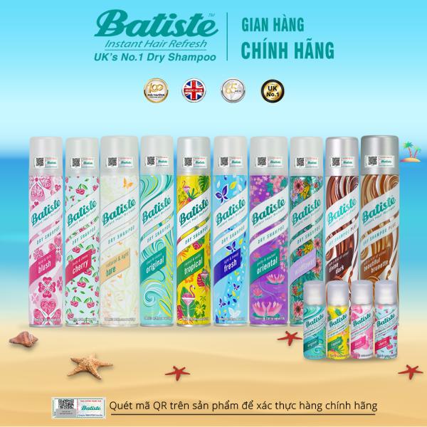 Dầu Gội Khô Batiste Dry Shampoo 200ml giá rẻ