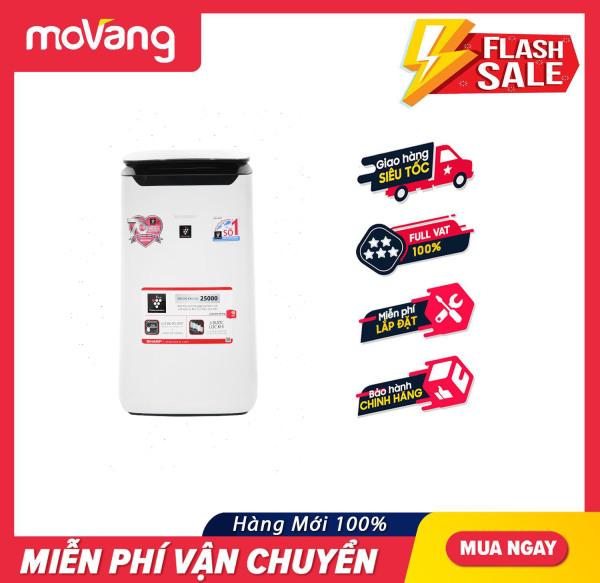 [HCM][Trả góp 0%]Máy lọc không khí Sharp FP-J60E-W - Chế độ Inverter tiết kiệm điện Bộ lọc bụi cho máy:Lọc bụi thô Lọc mùi than hoạt tính HEPA
