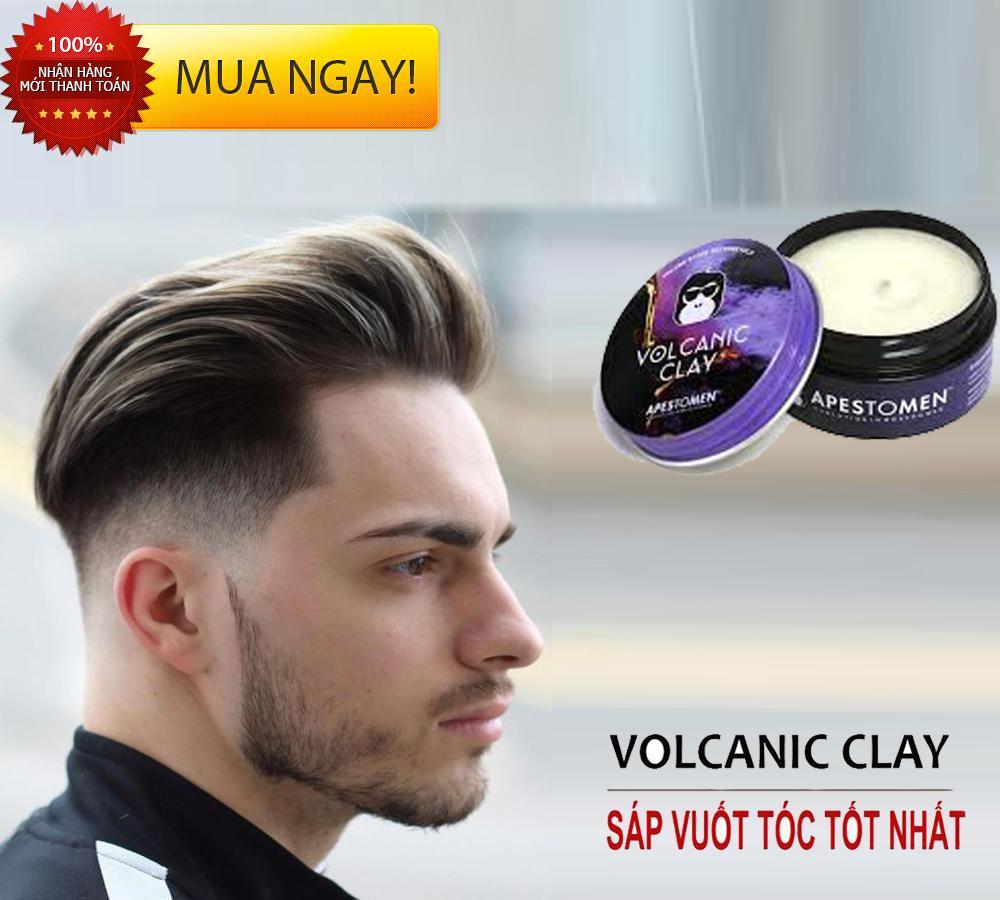 Sáp vuốt tóc giữ nếp lâu, Sáp Vuốt Tóc Nam Volcanic Clay Apestomen, Hương Thơm nam tính, Giữ nếp Vượt Trội, MUA NGAY để được giá ưu đãi tốt nhất! PT shop