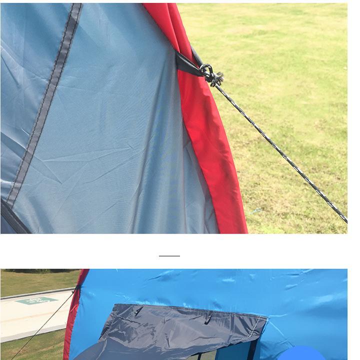Lều Cắm Trại Cỡ Lớn 3 Phòng - Dành Cho 12 Người - 5