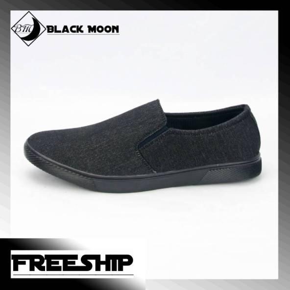 Giày lười công sở nam BM212 shop BlackMoon chuyên giày mọi, giày vải giá rẻ