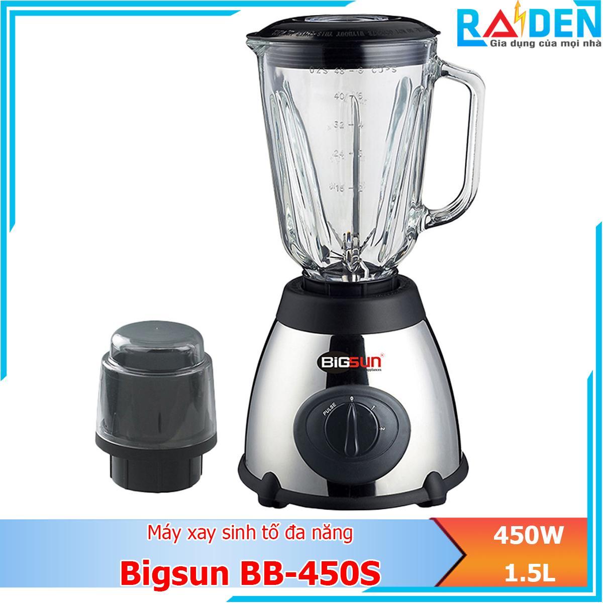 Máy xay sinh tố đa năng 450W Bigsun BB-450S