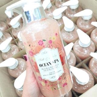 Sữa Tắm Muối Biển Tẩy Da Chết 3W CLINIC Salt And Body Ocean Spa 500ml Hàn Quốc thumbnail