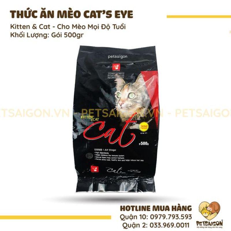 THỨC ĂN CATS EYE KITTEN & CAT CHO MÈO TẤT CẢ ĐỘ TUỔI