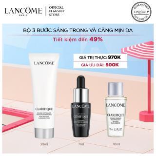 Bộ 3 chăm sóc da sạch sâu sáng khoẻ Lancome Advanced Genifique & Clarifique