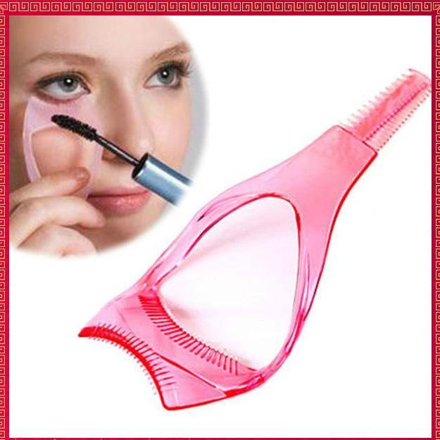 Dụng cụ hỗ trợ chải mi - phụ kiện trang điểm mắt giá rẻ - Lavy Store tốt nhất