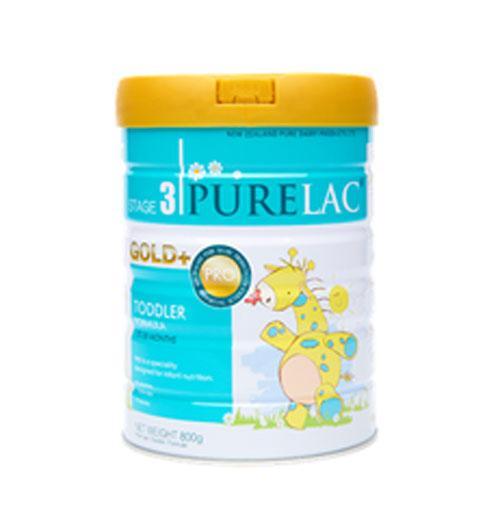 Sữa công thức nhập khẩu nguyên hộp từ NewZealand PureLac Royal+ (Stage 3) hộp 800gr cho bé từ 12 dến 36 tháng