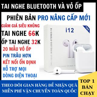 [ Giá Xỉ Hàng Xịn ] Tai Nghe Bluetooth i12s Bản Nâng Cấp Đa Chức Năng Hỗ Trợ Cho Mọi Dòng Máy - Tai Nghe Bluetooth Không Dây i12, Tai nghe buetooth pin trâu hay hơn i7s, i9s, i11, i12 thumbnail