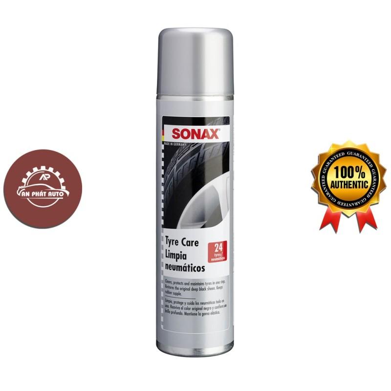 SONAX Tyre Care - Bọt Làm Bóng Và Bảo Vệ Vỏ (Lốp) Xe 400ml [Hàng Đức Chính Hãng]