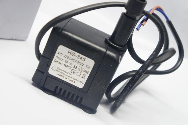 Bơm Chìm 7w trong quạt điều hòa mini 220v 480 lít/giờ