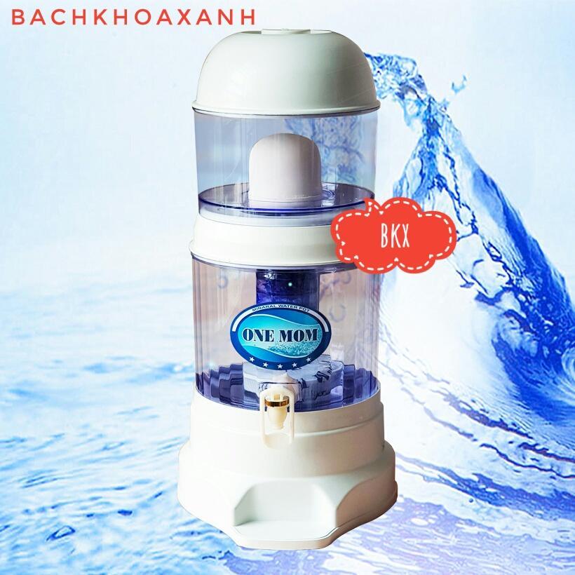 Bình lọc nước uống trực tiếp Hưng Long One Mom 15L, chuẩn, có linh kiện thay thế