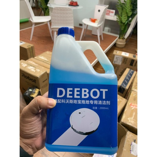 Nước lau sàn chuyên dụng cho Robot lau nhà ecovacs deebot ( Dùng được cho các loại robot khác)