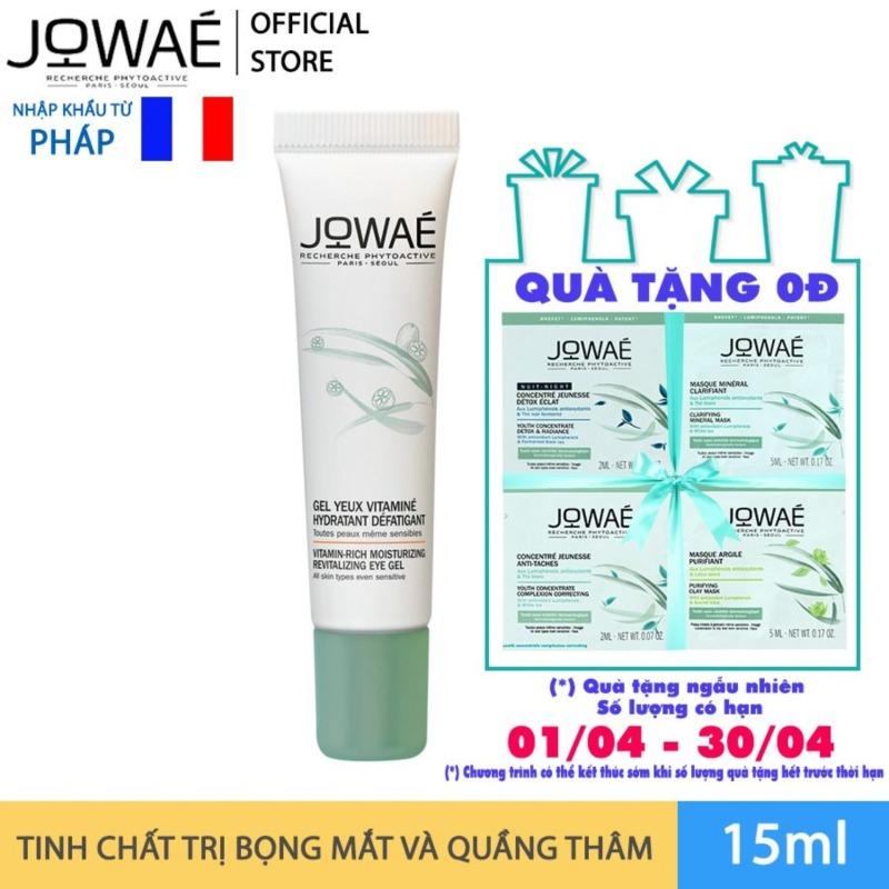 Tinh chất JOWAE trị bọng mắt và quầng thâm Mỹ phẩm thiên nhiên nhập khẩu Pháp Vitamin – Rich Moisturizing Revitalizing Eye Gel 15ml giá rẻ