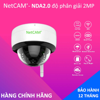 Camera Giám Sát IP Wifi Dome NETCAM NDA2.0 1080P - Hãng Phân Phối Chính Thức thumbnail