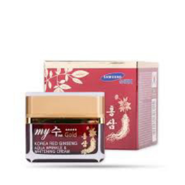 Kem Dưỡng Da Tổng hợp Ngày & Đêm, Chống lão hóa, giảm nám, trắng da Hồng Sâm My Gold Hàn Quốc (Đỏ) 50ml Frorence86 Store