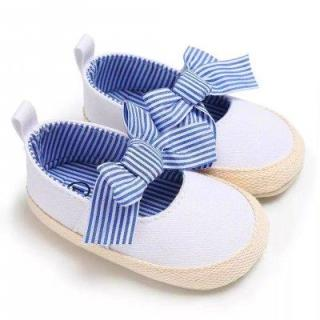 Giày tập đi búp bê thắt nơ xinh cho bé gái BBShine TD10 thumbnail