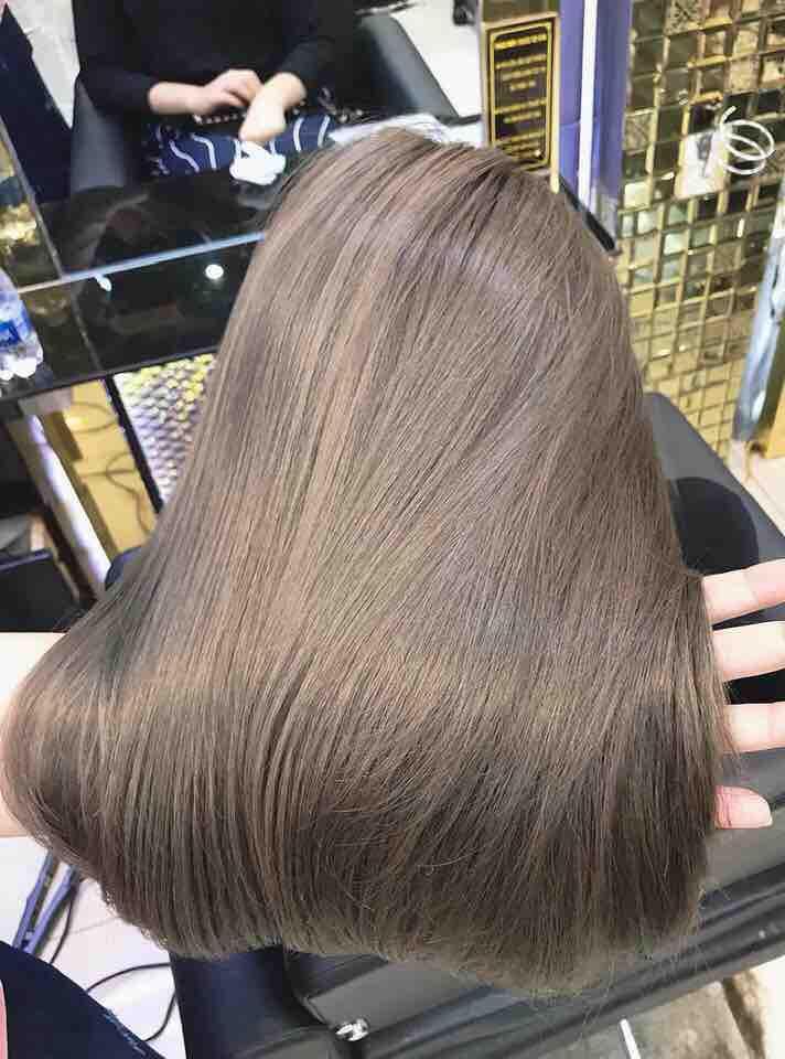 thuốc nhộm tóc collagen mềm mượt tóc(tặng kèm trợ nhôm,bao tay,trùm tóc) tốt nhất