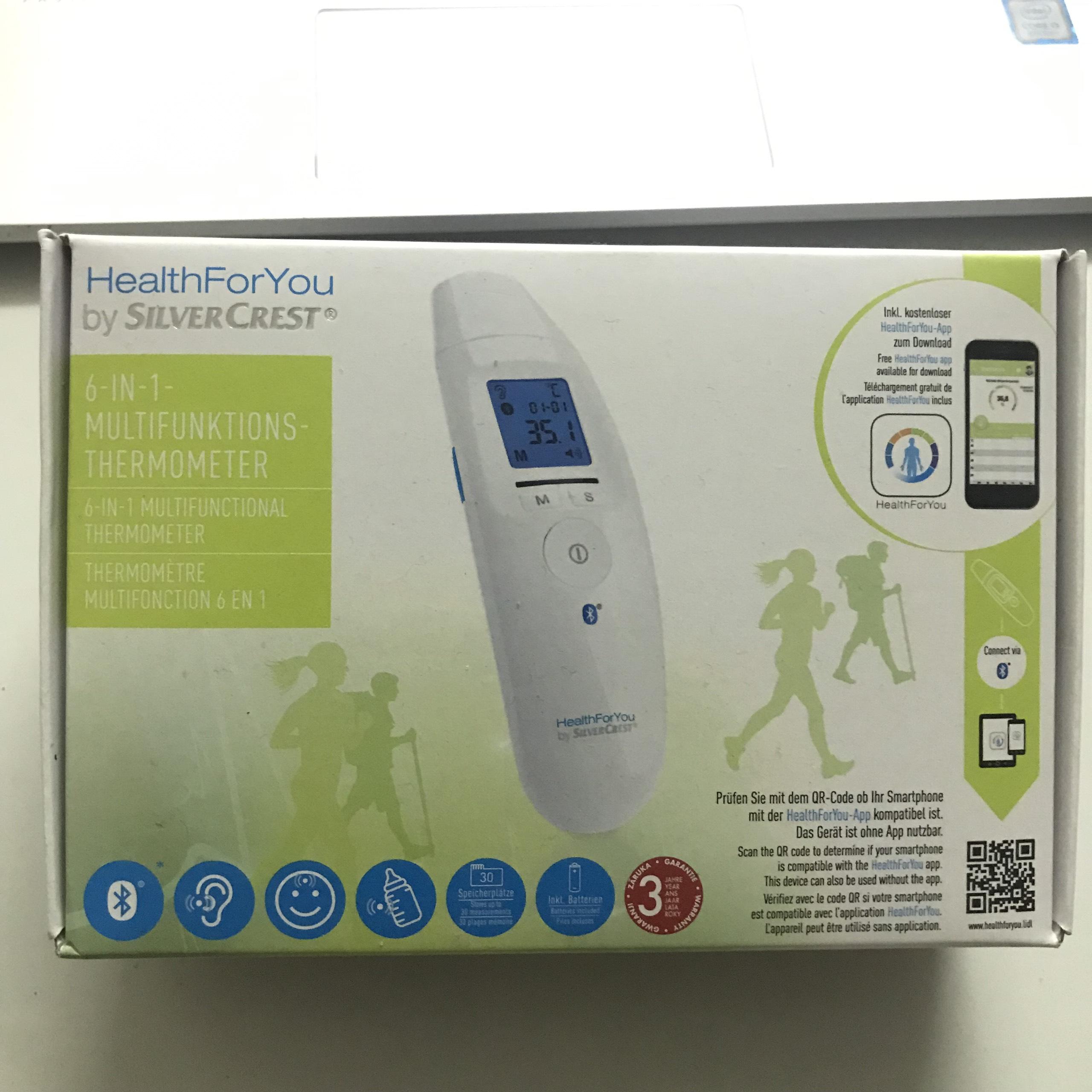 Máy Đo Nhiệt Kế Hồng Ngoại Đa Năng - Kết Quả Trong 1 Giây - Đo Nhiệt Độ Cho Bé - Đo nhiệt Độ Nước - Công nghệ Hiện Đại Kết Nối Bluetooth Bảo Hành Lỗi 1 Đổi 1 Trên Toàn Quốc. nhập khẩu