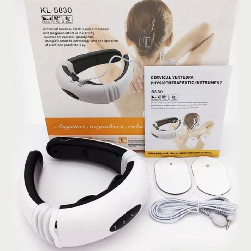 May massage xung dien KL5830 dùng được cho mọi lứa tuổi (trắng)