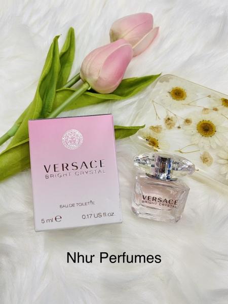 Nước hoa mini cho nữ Versace Bright Crystal 5ml
